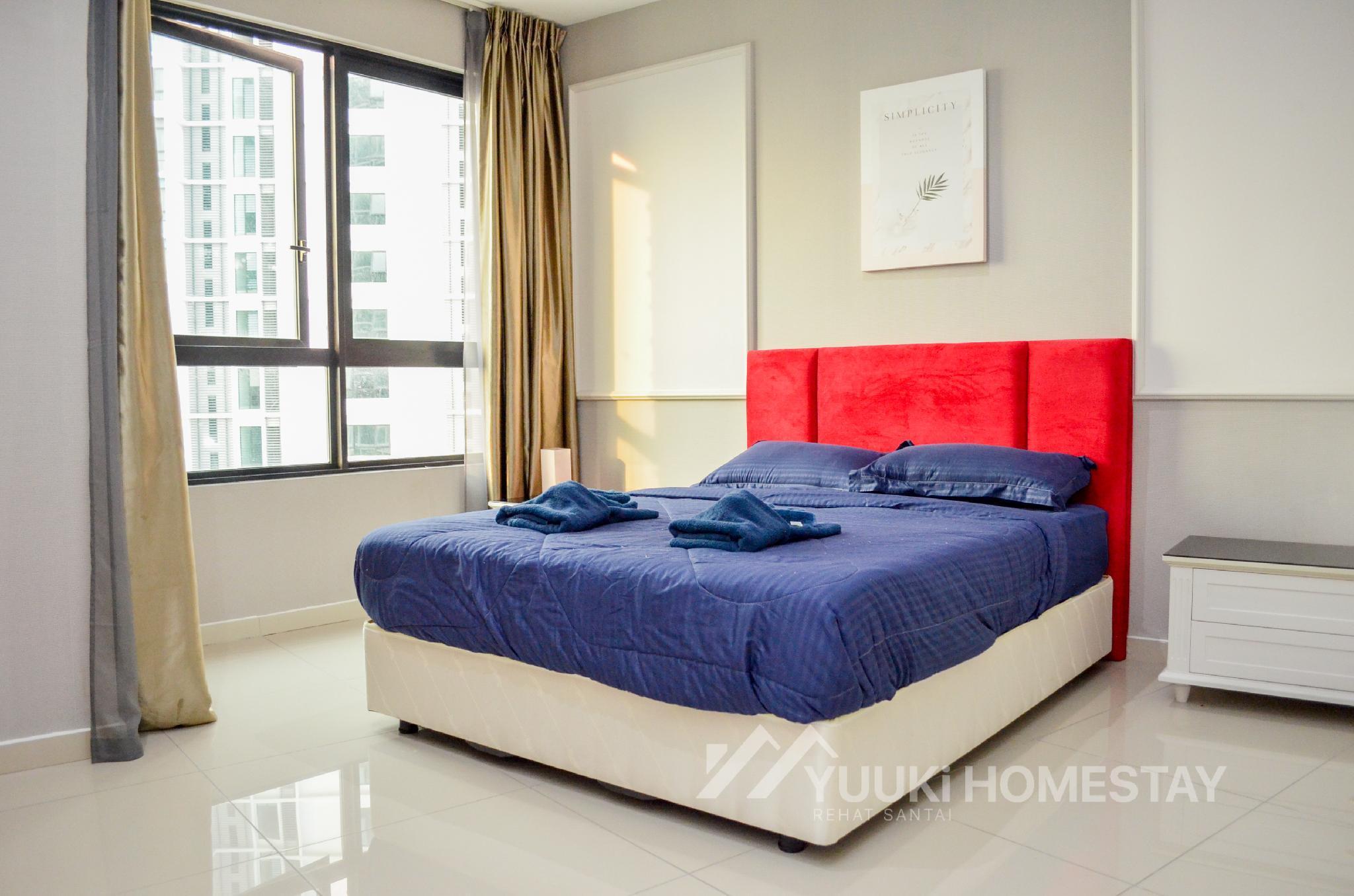 I City @ I Soho 1 BEDROOM @ Yuuki Homestay  013U
