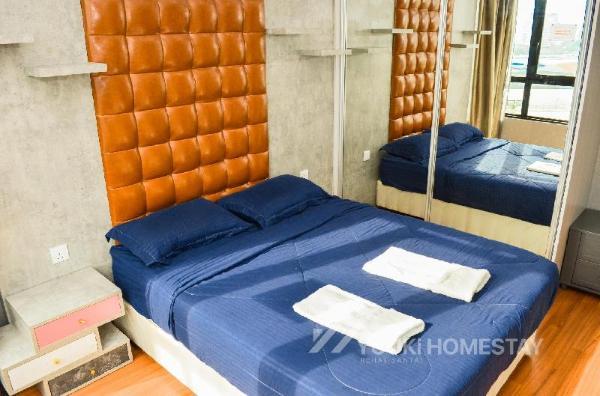 I City @ I Soho 2 Bedrooms @ YuukiHomestay (T001) Shah Alam