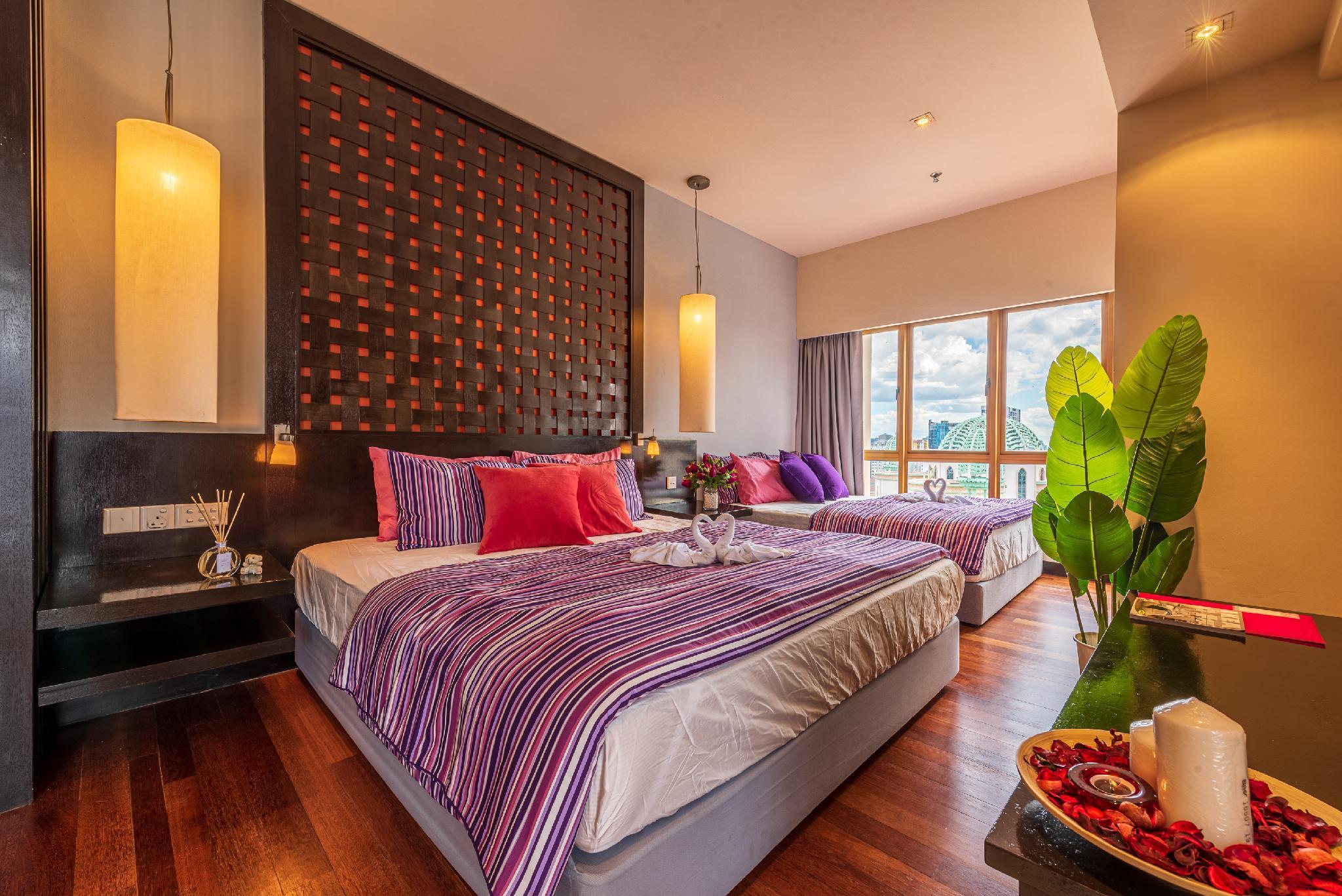 Sunway Resort Suite 7pax@Sunway Lagoon Pyramid