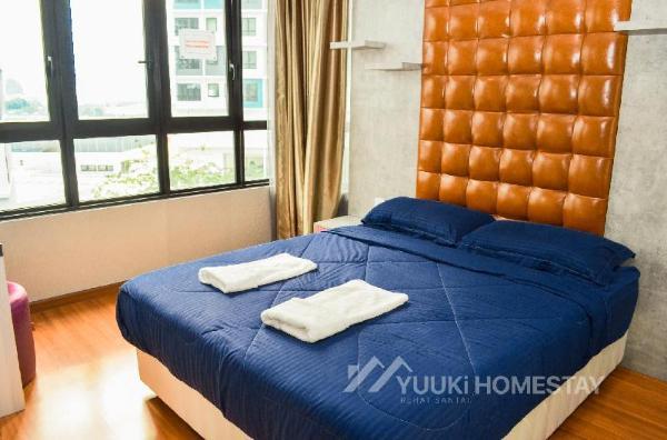 I City @ I Soho 2 Bedrooms @ YuukiHomestay (T005) Shah Alam