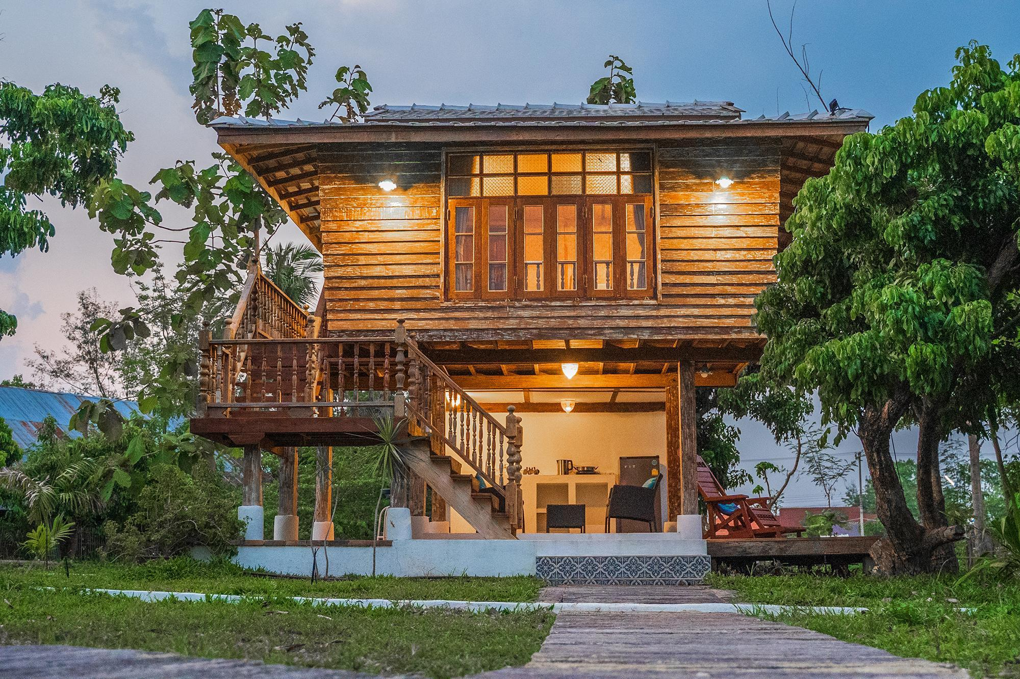 Baanchandra Jungle wooden House สตูดิโอ บ้านเดี่ยว 1 ห้องน้ำส่วนตัว ขนาด 97 ตร.ม. – หางดง