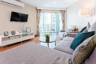 [ラチャダーピセーク]アパートメント(102m2)| 3ベッドルーム/2バスルーム WARM SWEET/BIG POOLS&GYM/5 MINS MRT/CITY CENTER