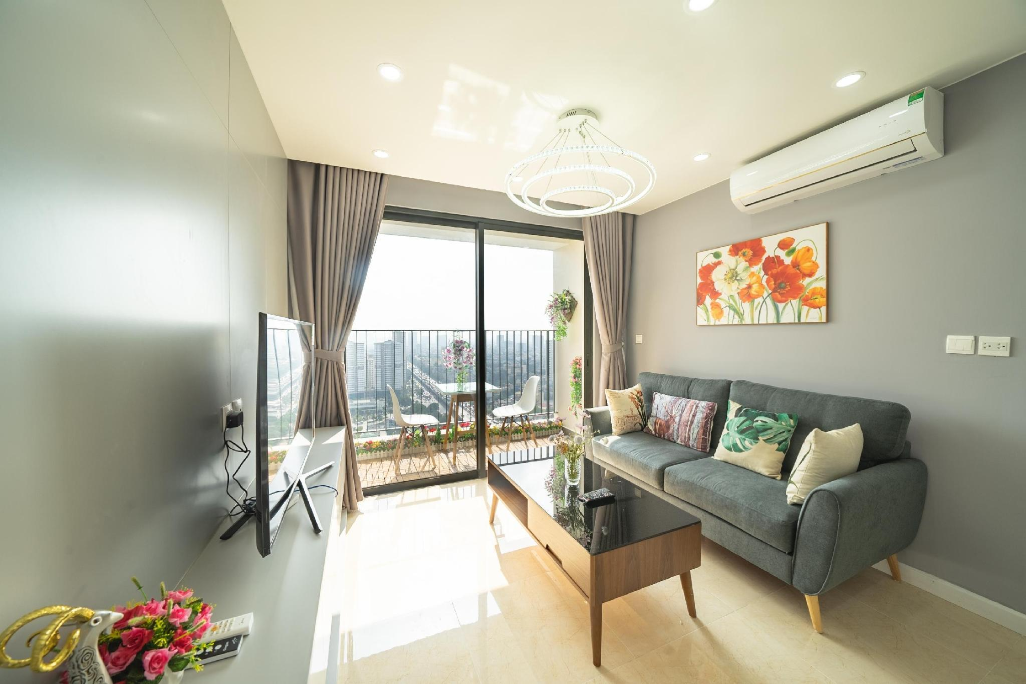 Apartment 1br D�capitale Bld Tran Duy Hung Street