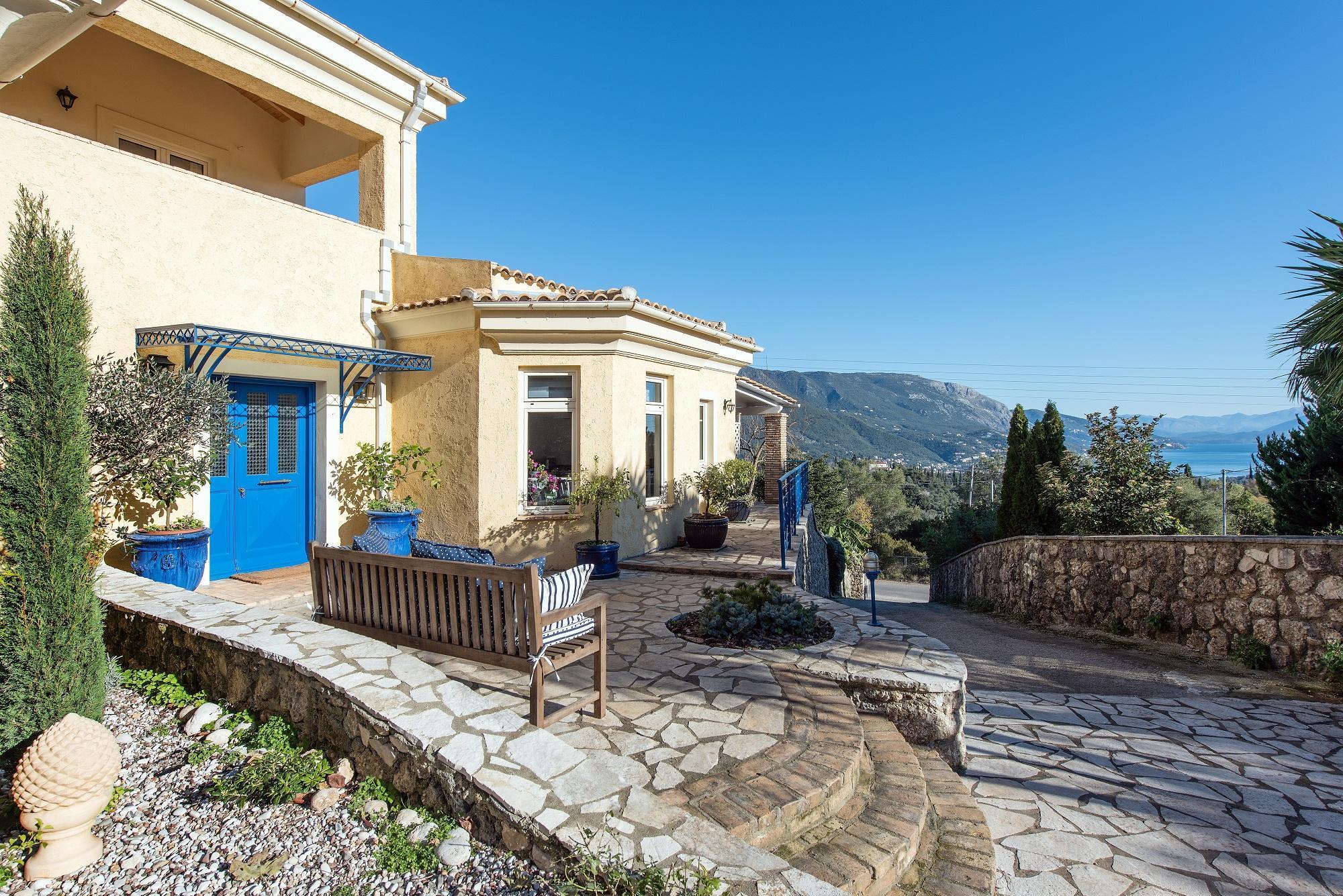 Villa Al Azraa  By Corfuescapes