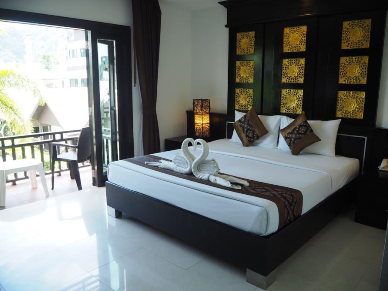 Beautiful Superior Room Near Beach วิลลา 1 ห้องนอน 1 ห้องน้ำส่วนตัว ขนาด 80 ตร.ม. – อ่าวต้นไทร