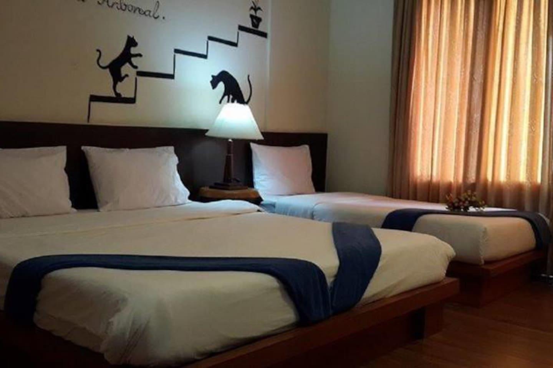 Superior Family room for 3 - Sea View อพาร์ตเมนต์ 1 ห้องนอน 1 ห้องน้ำส่วนตัว ขนาด 60 ตร.ม. – อ่าวโละดาลัม