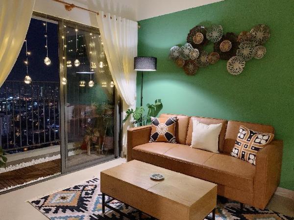 Aurora - Bohemian Style.2BRS Apartment/ MASTERI TD Ho Chi Minh City