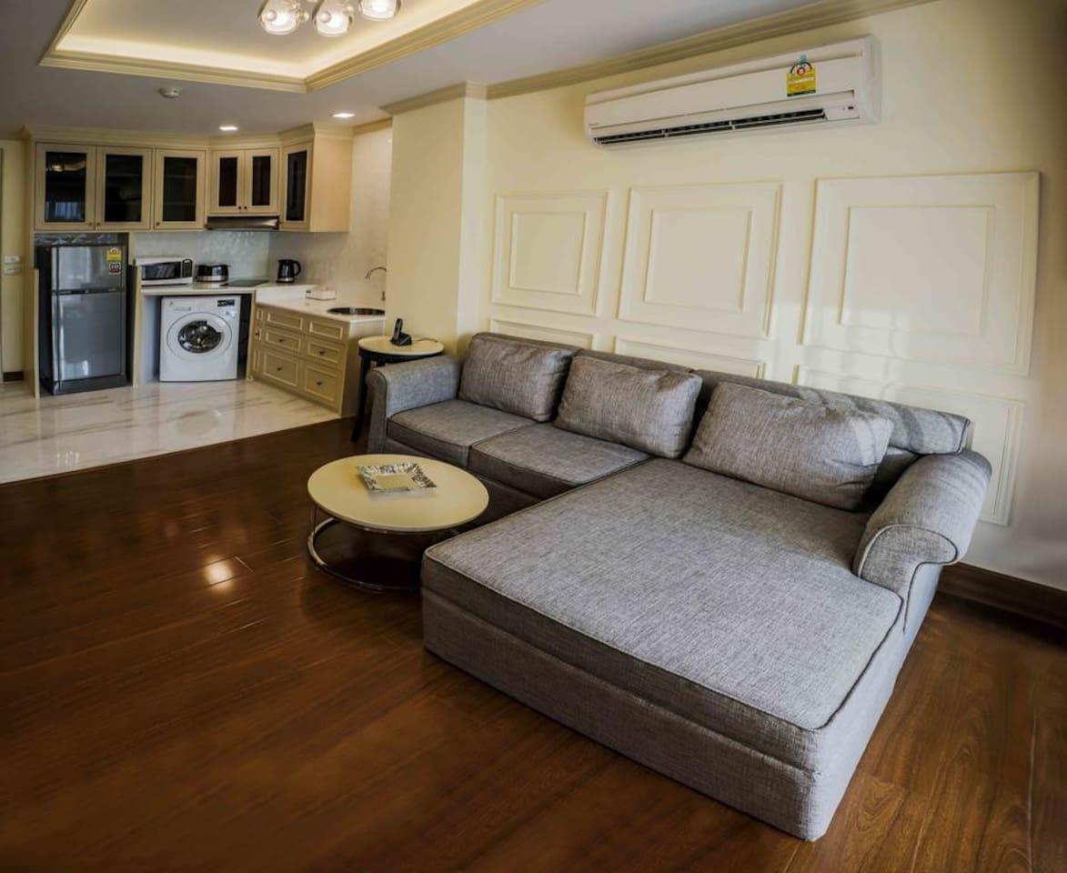 1 Bedroom Apartment Thonglor Bangkok อพาร์ตเมนต์ 1 ห้องนอน 1 ห้องน้ำส่วนตัว ขนาด 45 ตร.ม. – สุขุมวิท