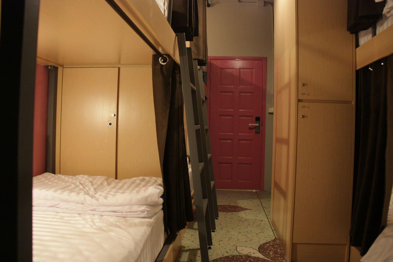 Private Room 2Single beds VP9 อพาร์ตเมนต์ 1 ห้องนอน 1 ห้องน้ำส่วนตัว ขนาด 25 ตร.ม. – เยาวราช