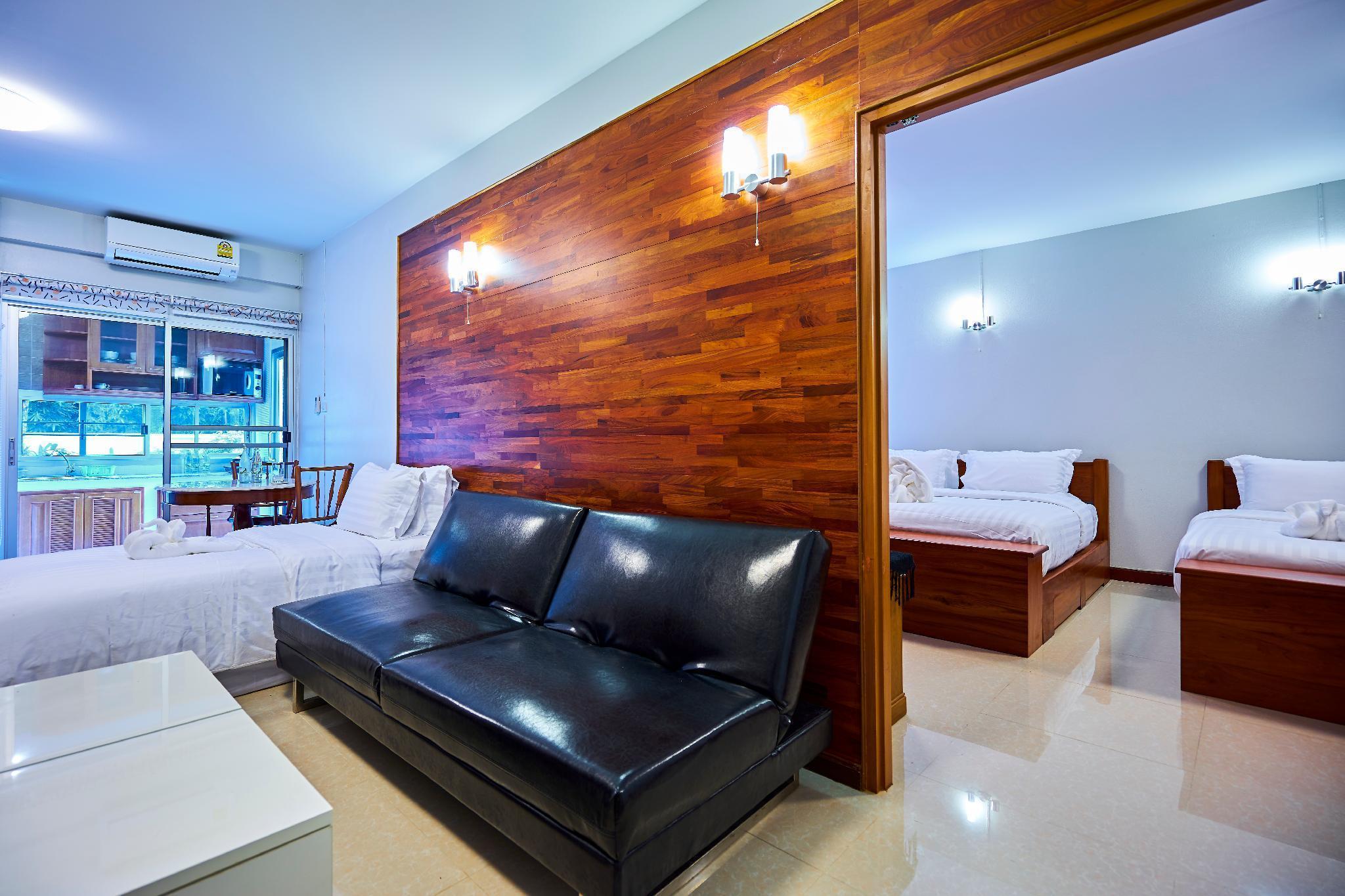 Happy holiday room อพาร์ตเมนต์ 1 ห้องนอน 2 ห้องน้ำส่วนตัว ขนาด 36 ตร.ม. – สุเทพ
