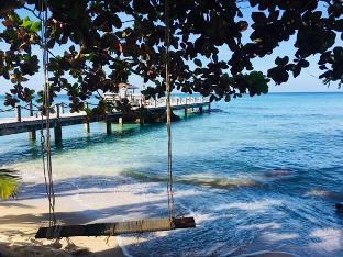 [ハットクロンチャオ]バンガロー(60m2)| 1ベッドルーム/1バスルーム Incredible Sea View Villa on Beach Front