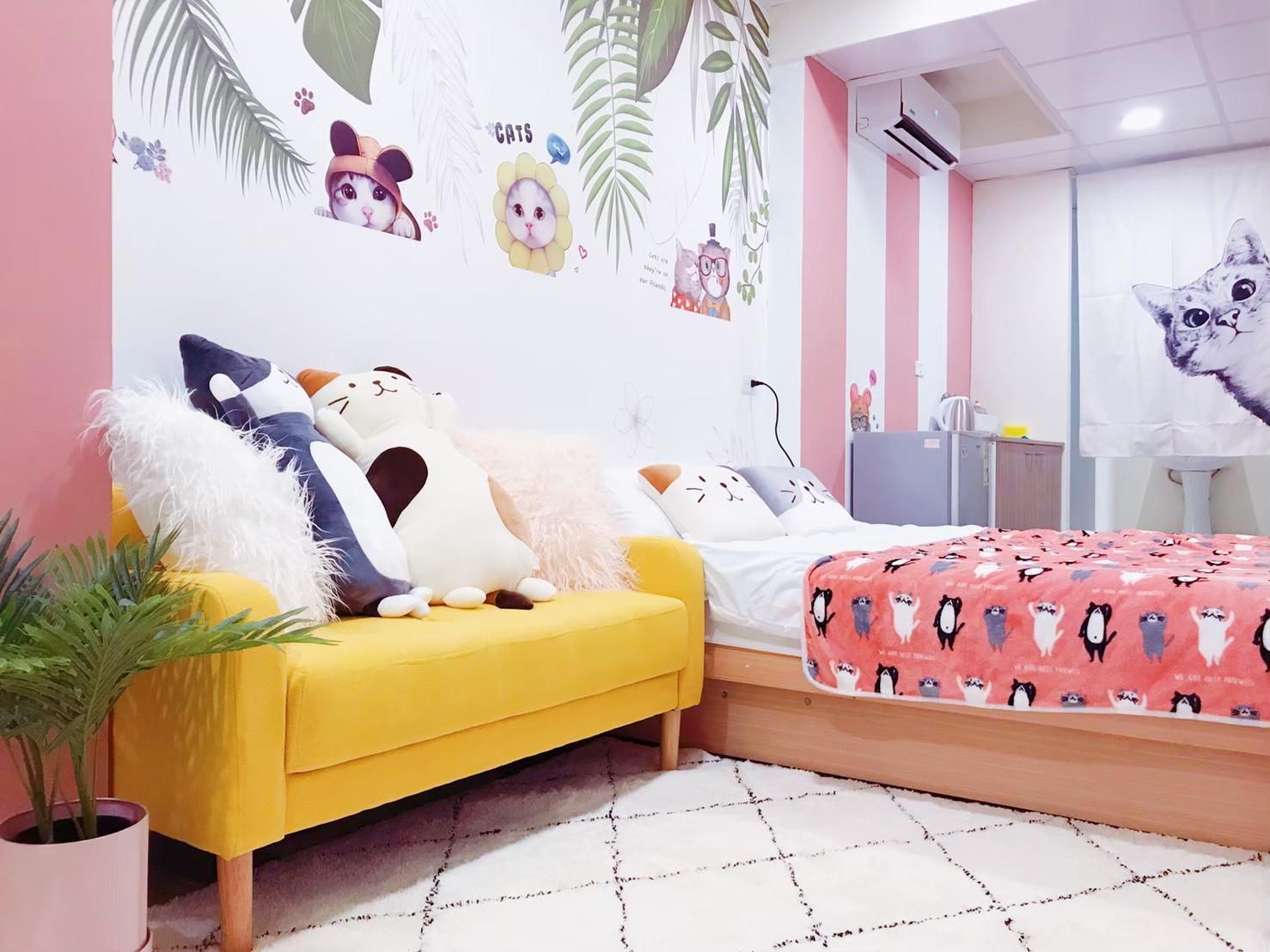 A203 Sweety Home @Ximending MRT 5 Min 2P