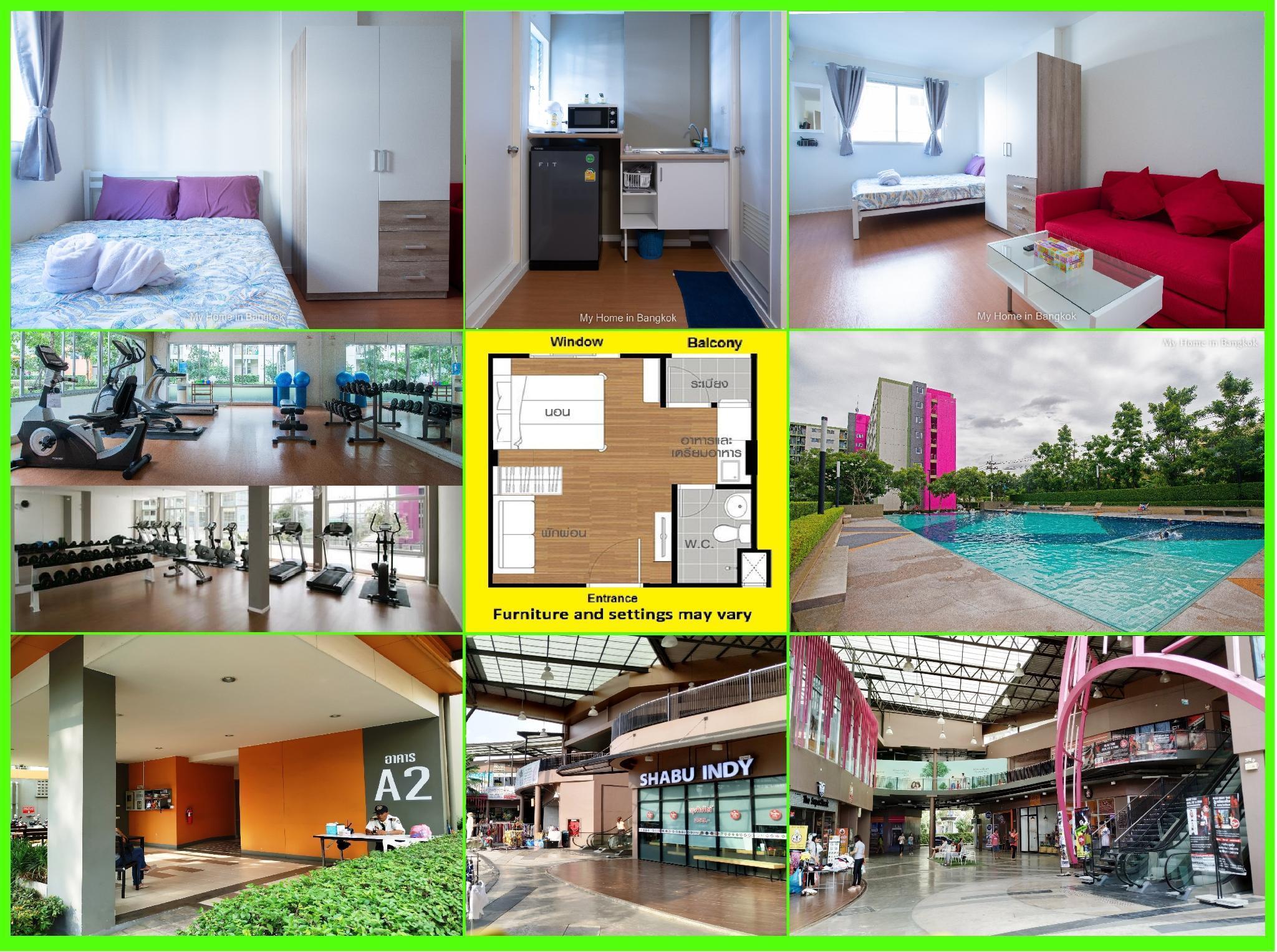Family Apartment My Home In Bangkok C5 111