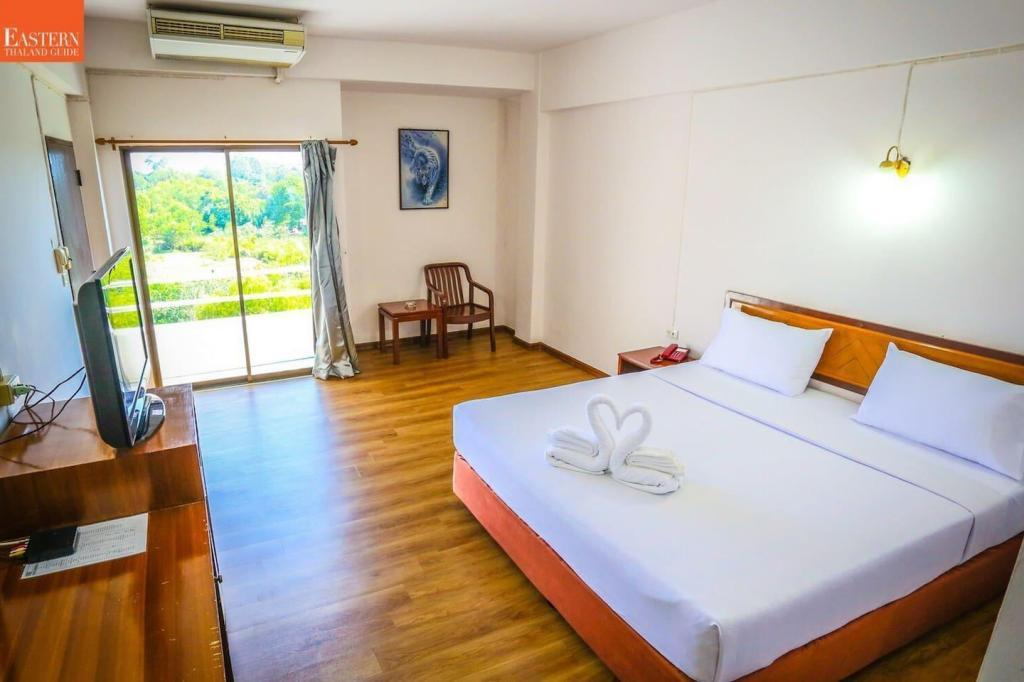Wiangwalee Rayong อพาร์ตเมนต์ 1 ห้องนอน 1 ห้องน้ำส่วนตัว ขนาด 32 ตร.ม. – ตัวเมืองระยอง