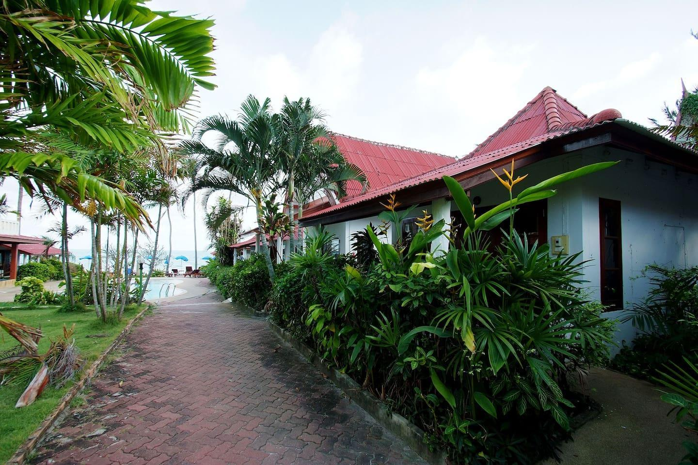 Chaweng Deluxe Garden Bungalow