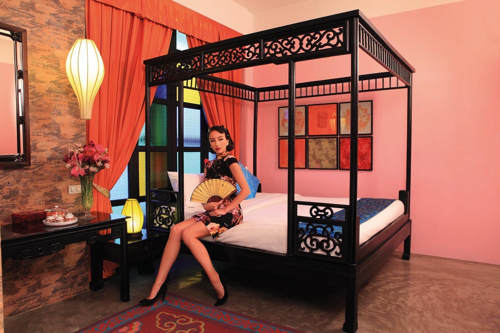Antique Chinese Style   Chinatown   350m MRT อพาร์ตเมนต์ 1 ห้องนอน 1 ห้องน้ำส่วนตัว ขนาด 27 ตร.ม. – เยาวราช