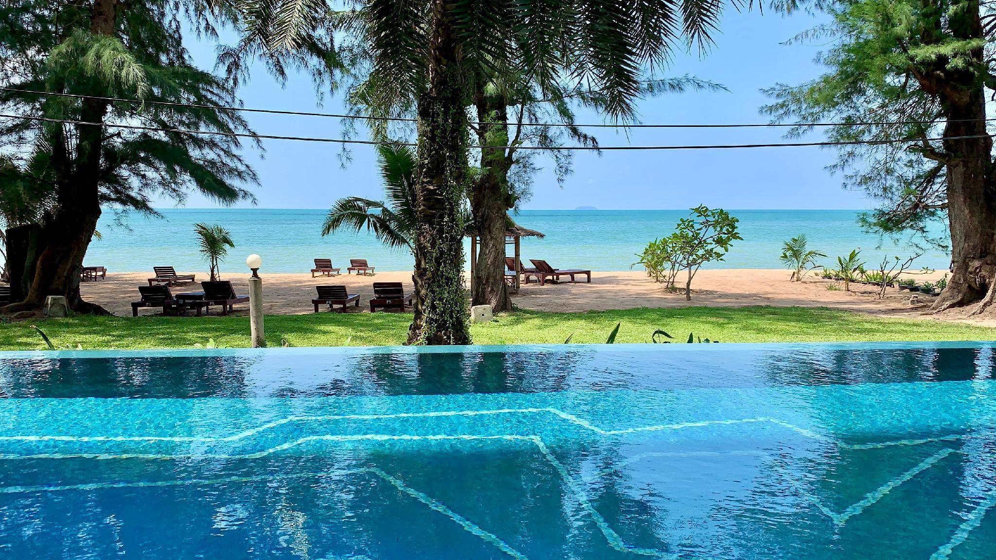 Pattaya Beach Front Delux Suite &Private Beach อพาร์ตเมนต์ 1 ห้องนอน 2 ห้องน้ำส่วนตัว ขนาด 190 ตร.ม. – นาจอมเทียน