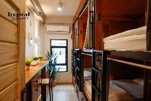 [サトーン]一軒家(100m2)  1ベッドルーム/2バスルーム Family room 6 Beds in Tropical Summer Hostel