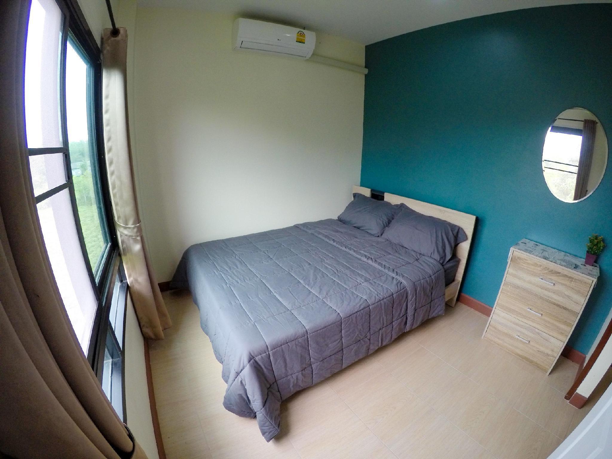 Gift House อพาร์ตเมนต์ 1 ห้องนอน 1 ห้องน้ำส่วนตัว ขนาด 33 ตร.ม. – อำเภอถลาง