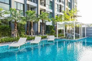 [カオタロ]アパートメント(35m2)| 1ベッドルーム/1バスルーム Cozy Modern room /w swimming pool and gym