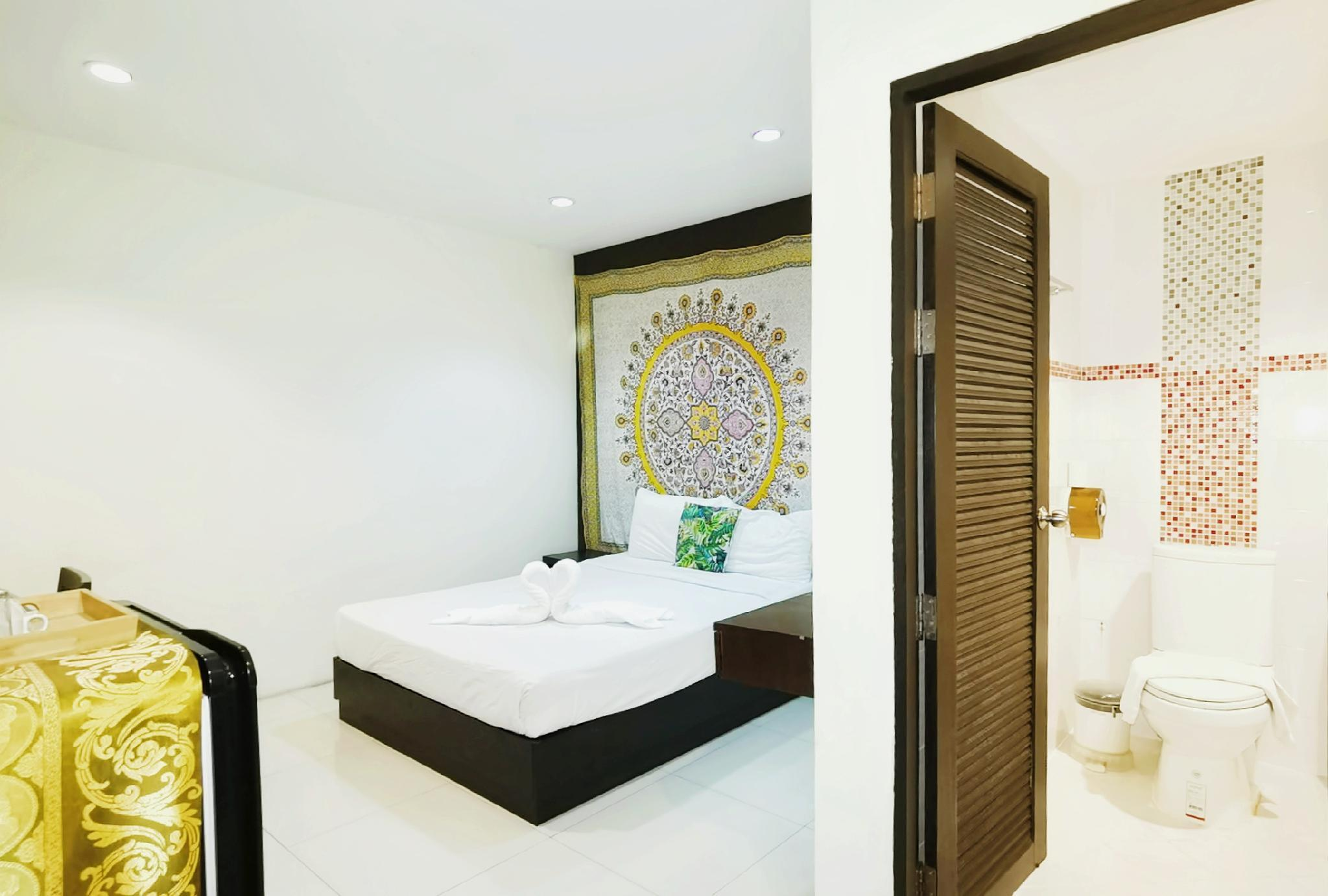 53Long Rent Patong Economy Room#Near Beach Bangla อพาร์ตเมนต์ 1 ห้องนอน 1 ห้องน้ำส่วนตัว ขนาด 30 ตร.ม. – ป่าตอง