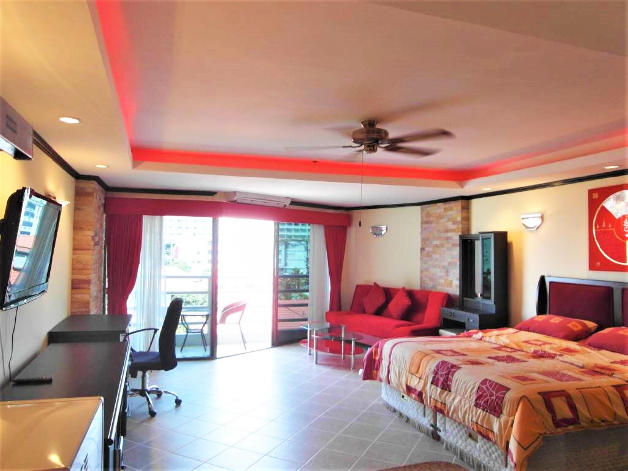 View Talay 2A floor 5 with European style kitchen สตูดิโอ อพาร์ตเมนต์ 1 ห้องน้ำส่วนตัว ขนาด 38 ตร.ม. – หาดดงตาล