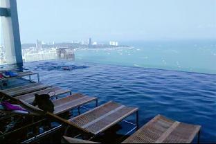 [パタヤ中心地]アパートメント(35m2)| 1ベッドルーム/1バスルーム A3 Sky pool scenic sea view center of Pattaya