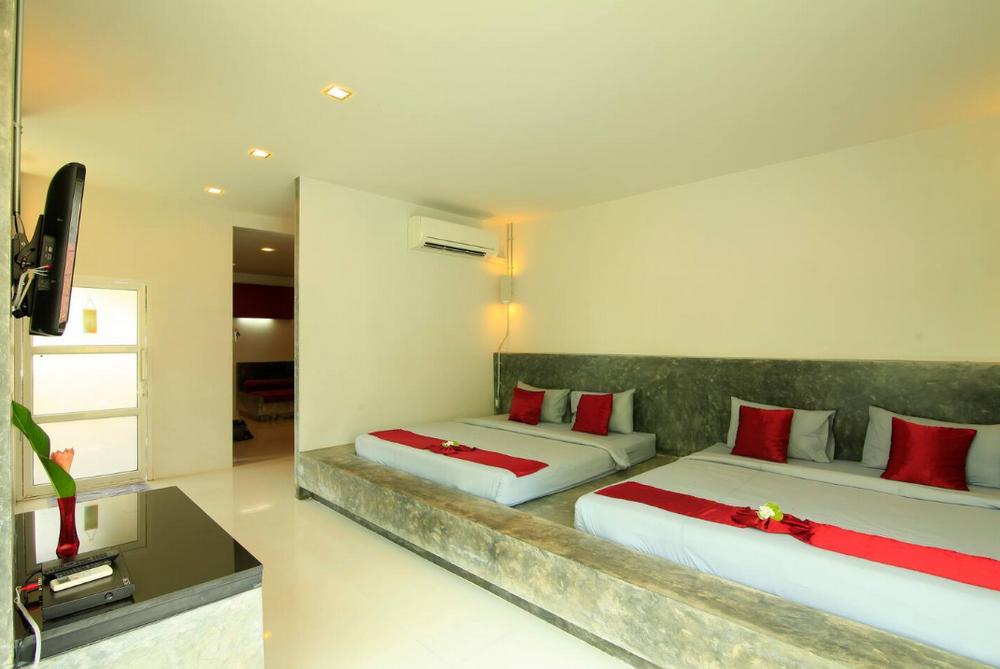 Aonang Paradise Resort Family Room 1 ห้องนอน 1 ห้องน้ำส่วนตัว ขนาด 56 ตร.ม. – อ่าวนาง