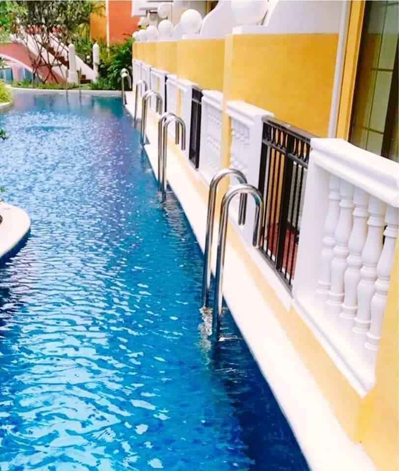 Venetian Condo Pool Access อพาร์ตเมนต์ 1 ห้องนอน 1 ห้องน้ำส่วนตัว ขนาด 26 ตร.ม. – นาจอมเทียน