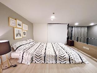 [ラチャダーピセーク]アパートメント(38m2)| 1ベッドルーム/1バスルーム 8897 Cozy Loft 5min to MRT/Rama9/Airline/Asok