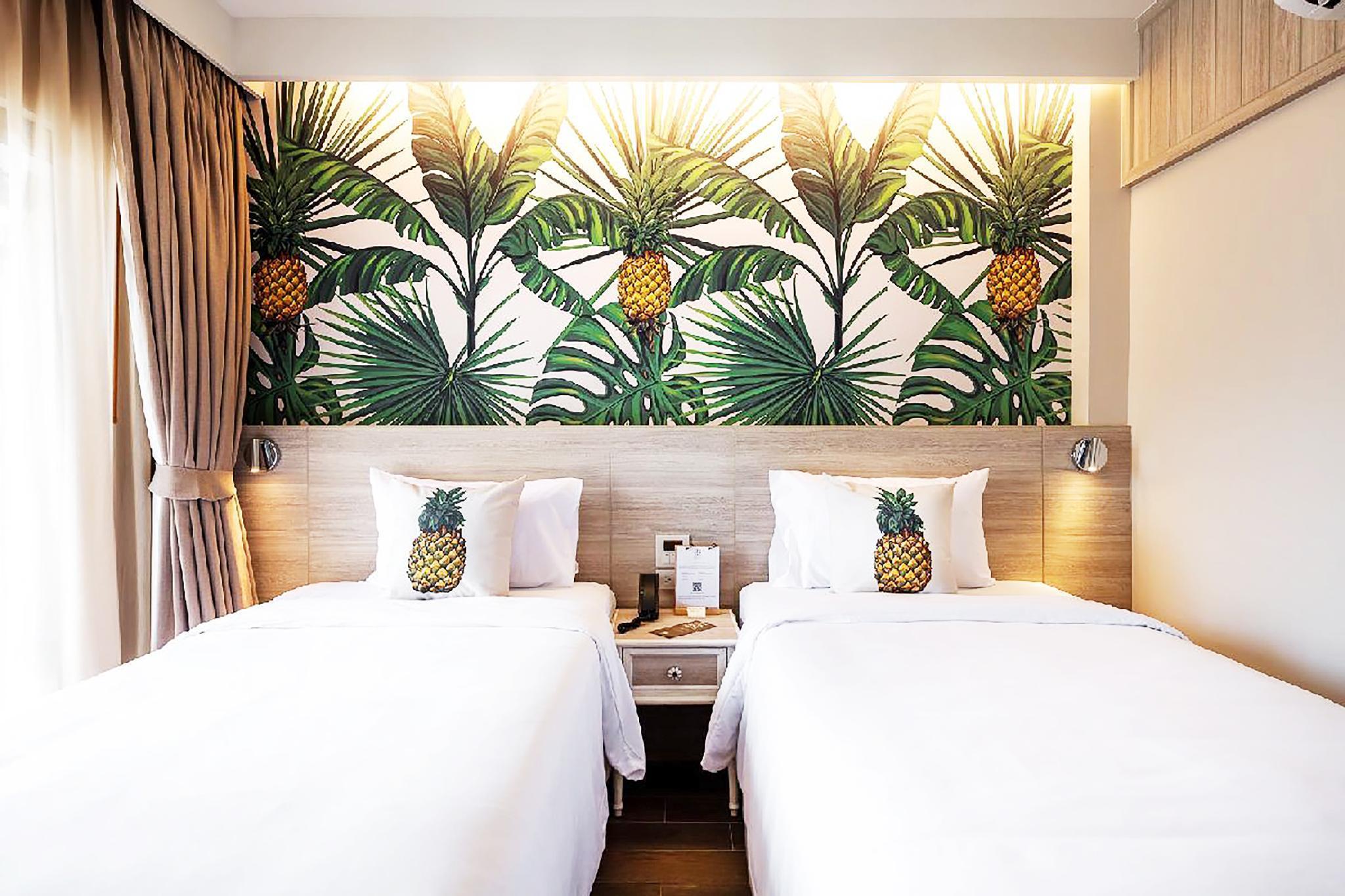 Tropical Escape Resort Studio nearby Patong Beach อพาร์ตเมนต์ 1 ห้องนอน 1 ห้องน้ำส่วนตัว ขนาด 24 ตร.ม. – ป่าตอง