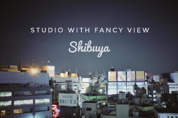 5# Cozy Studio with Fancy View 5 Mins to Shibuya Tokyo