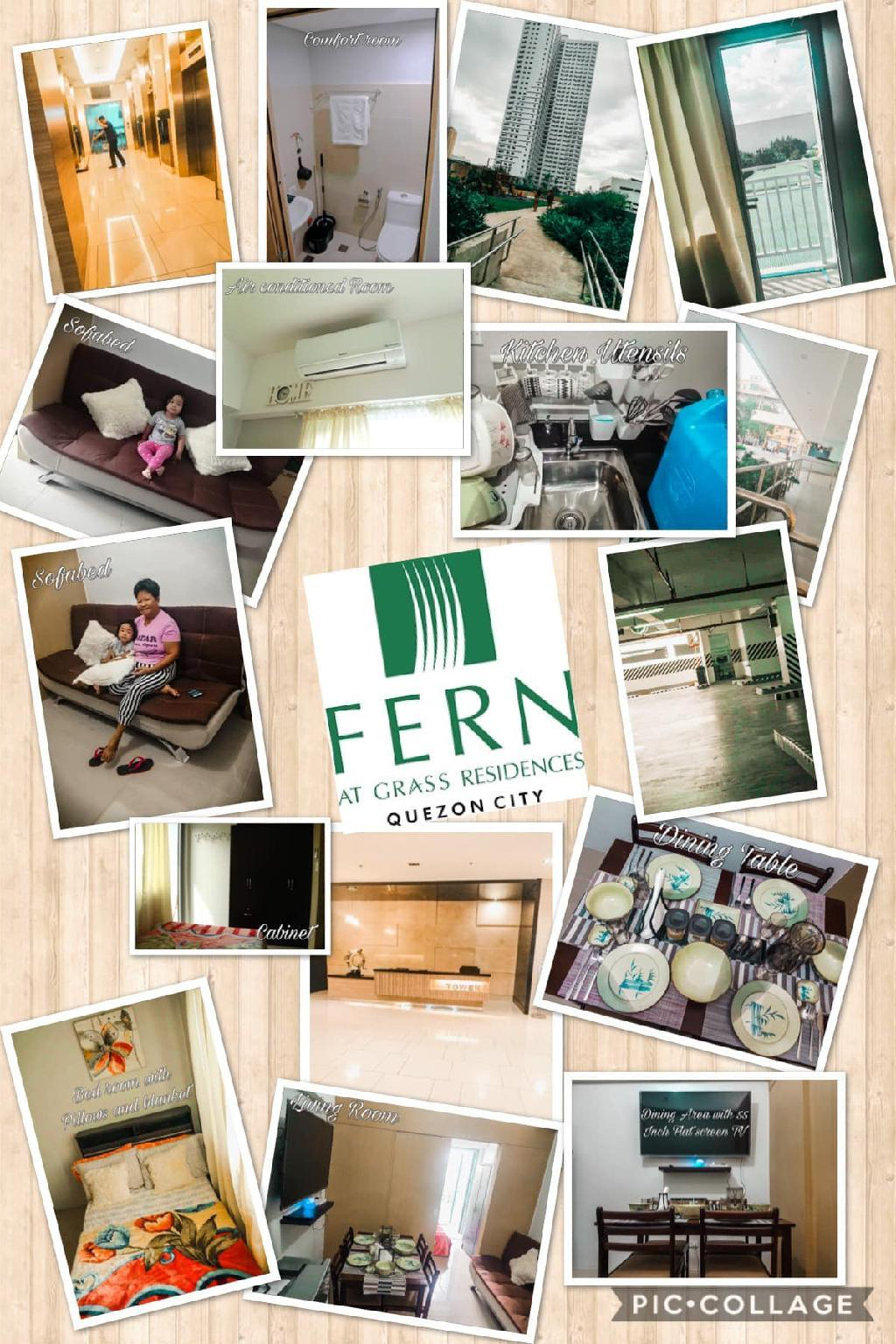 A-Claude's Crib  at FERN Grass Residences