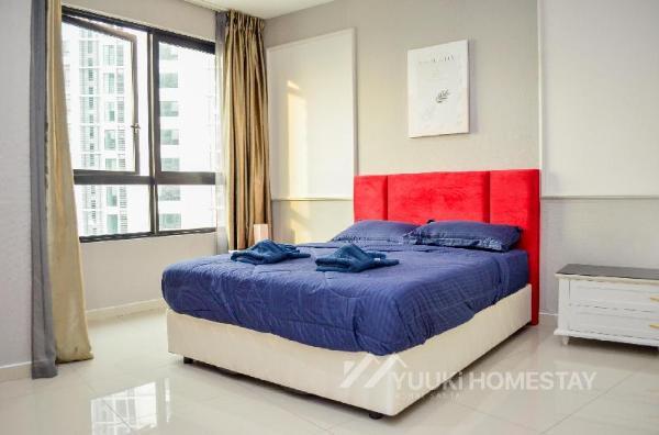 i Soho @ i City 1 BEDROOM @YUUKi HOMESTAY (001L) Shah Alam