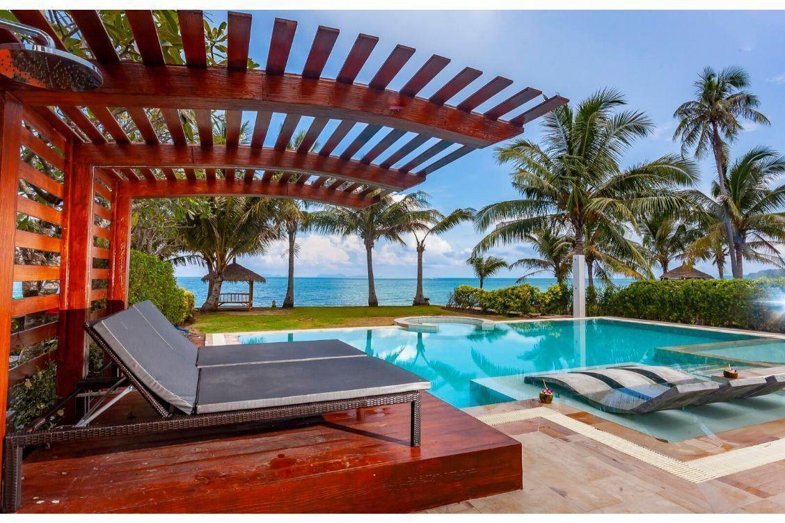 Exclusive pool area on unique beach location. วิลลา 4 ห้องนอน 2 ห้องน้ำส่วนตัว ขนาด 128 ตร.ม. – หาดพระแอะ