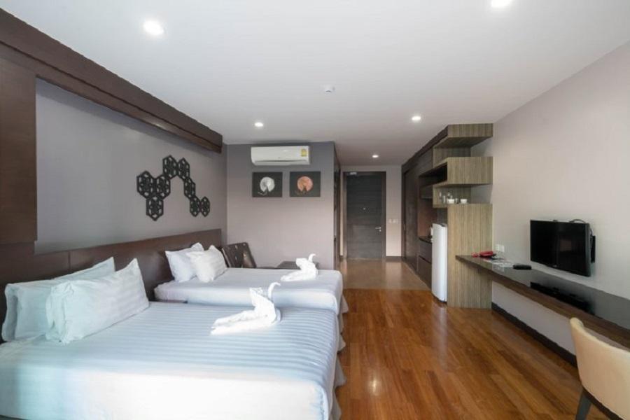 Studio Apartment at The Regent Bangtao สตูดิโอ อพาร์ตเมนต์ 1 ห้องน้ำส่วนตัว ขนาด 45 ตร.ม. – บางเทา