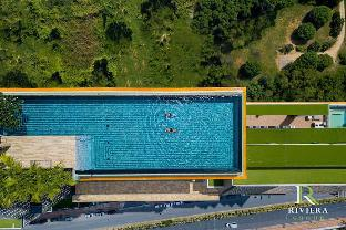 Pattaya Jomtien Beach  Sky Pool  (Riviera jomtien) อพาร์ตเมนต์ 1 ห้องนอน 1 ห้องน้ำส่วนตัว ขนาด 28 ตร.ม. – หาดจอมเทียน