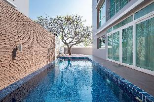 [ホアヒン市内中心地]一軒家(120m2)| 3ベッドルーム/4バスルーム Villa O2 Luxury Pool Suite @ Heart of Huahin