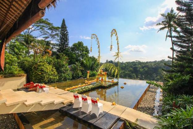 1BR pool villa with river view and breakfast