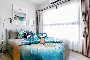 [Ratchada]アパートメント(30m2)| 1ベッドルーム/1バスルーム [hiii]Lakeside/InfinityPool/AirportLink-BKK233