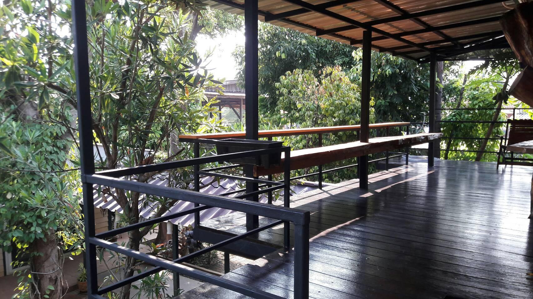Casa Bonita (Tree House) บ้านเดี่ยว 1 ห้องนอน 1 ห้องน้ำส่วนตัว ขนาด 40 ตร.ม. – แม่น้ำแคว