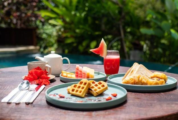 2 BR Villa with Garden View- Breakfast