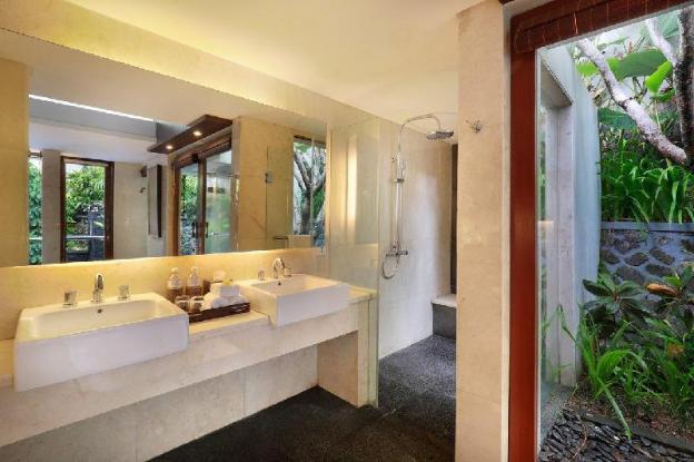 1 BR Luxury Private Pool Villa Ubud Center+B'fast