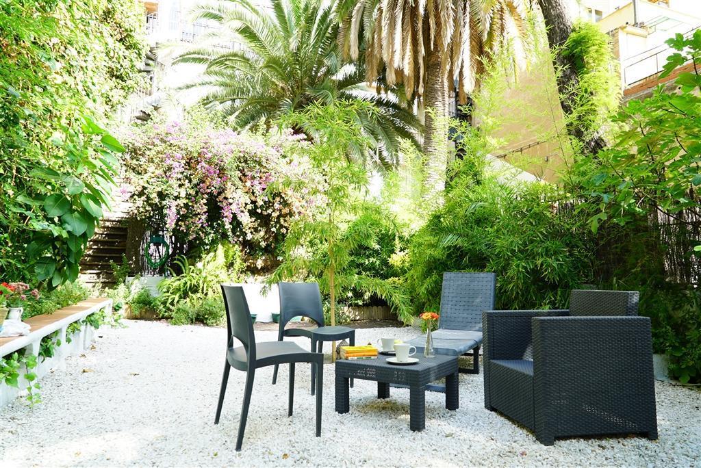Luxury Garden Flat BCN city center