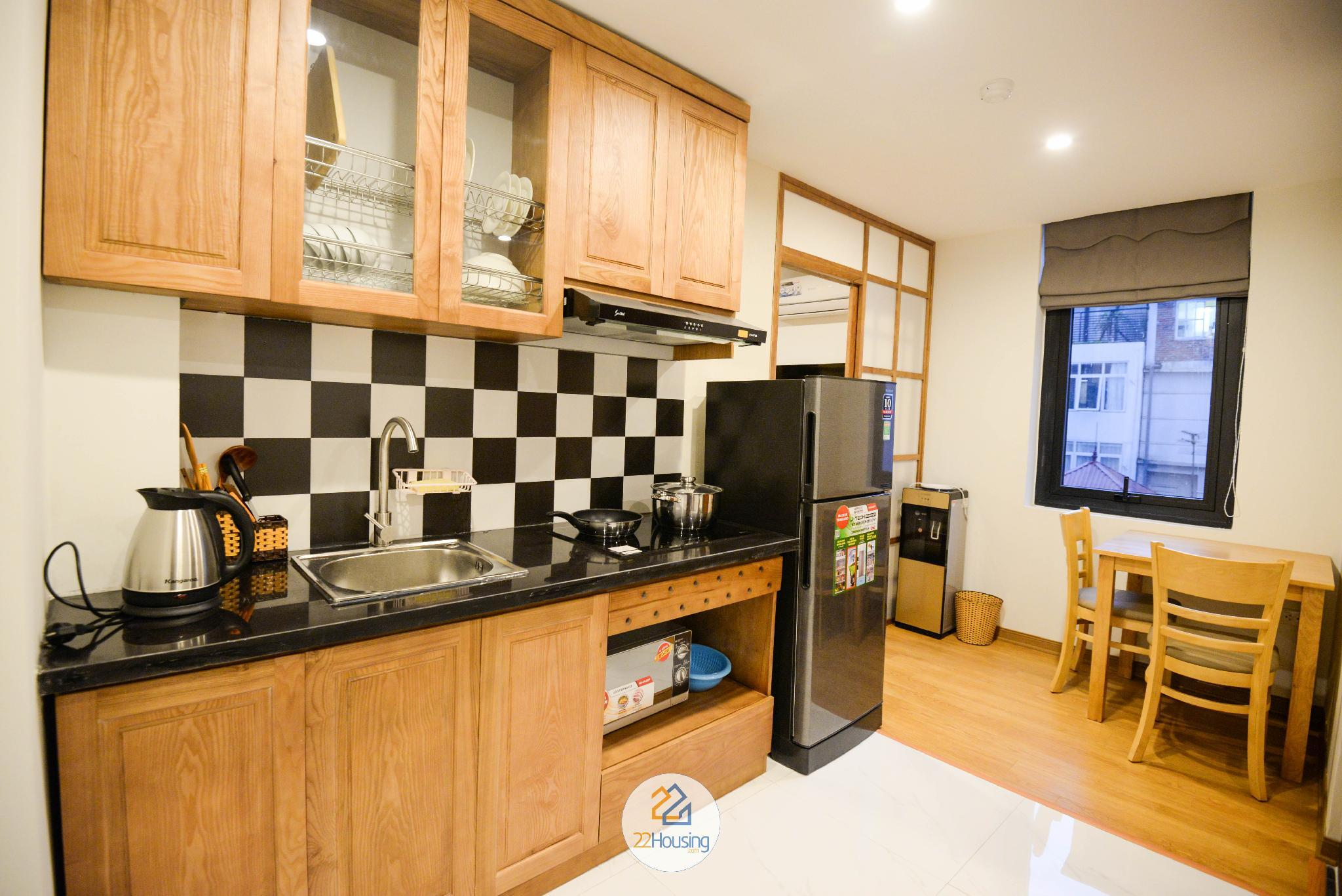 Hanoi Japanese 1-bedroom apartment/39 Linh Lang/04