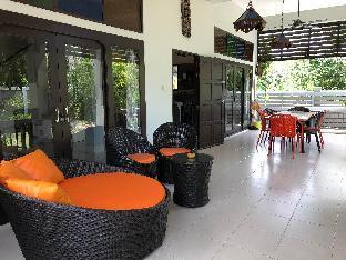[クロンムアン]ヴィラ(150m2)| 1ベッドルーム/4バスルーム villa Lilawan a 150 metres de la plage Klong Muang