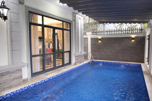 Modern luxury pool villa at Phu My Hung, D7 Ho Chi Minh City