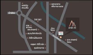 [ウタイ]アパートメント(32m2)| 1ベッドルーム/1バスルーム Asa Ayutthaya Rojana