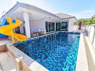 [チャアム]ヴィラ(320m2)| 3ベッドルーム/3バスルーム H2O Pool Villa Cha-am