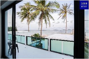 [プランブリー]ヴィラ(300m2)| 5ベッドルーム/5バスルーム BeachFront Poolvilla for 20 people |Pranburi Beach